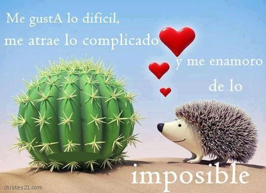 Lo imposible me gusta