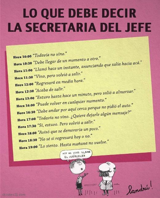 Chistes y an cdotas de secretarias for Chistes de oficina