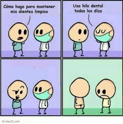 Chistes Consulta Al Dentista