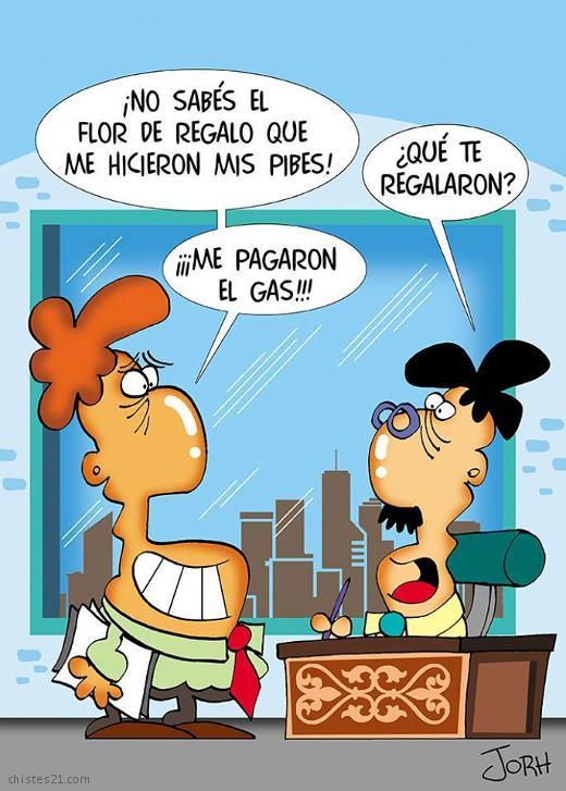 CHISTES CORTOS DE REGALOS