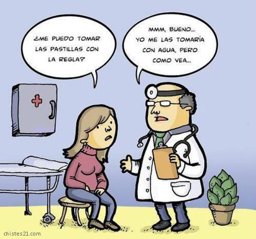 Resultado de imagen para chiste de medico